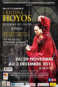 Cristina Hoyos en París y pronto en América Latina