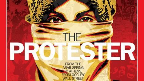 TIME elige a 'El Manifestante'